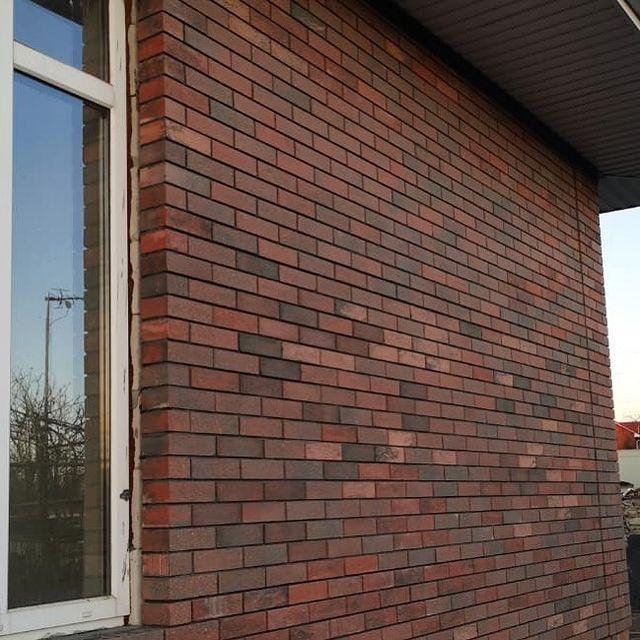 Фото облицовка дома литос фашион брик мюнхен