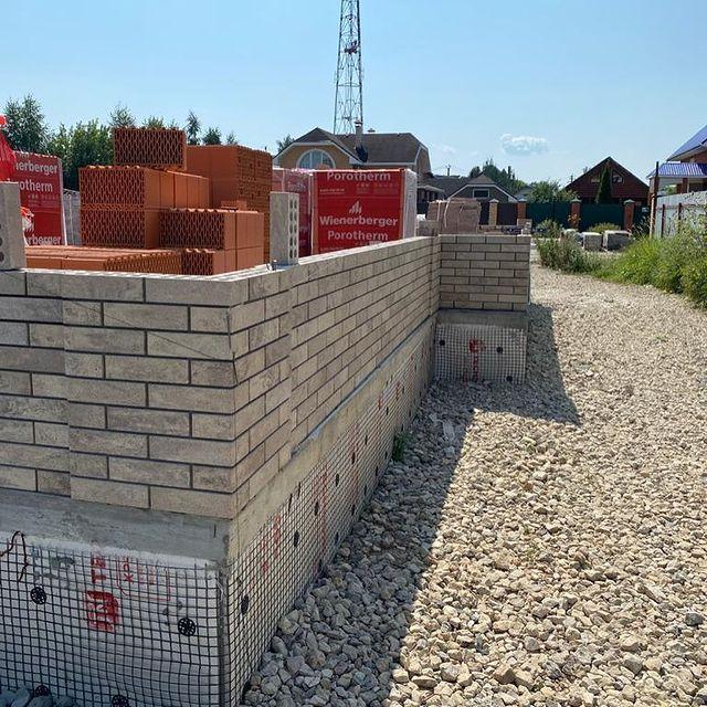 Фотография строительство дома из Litos Fashion Brick
